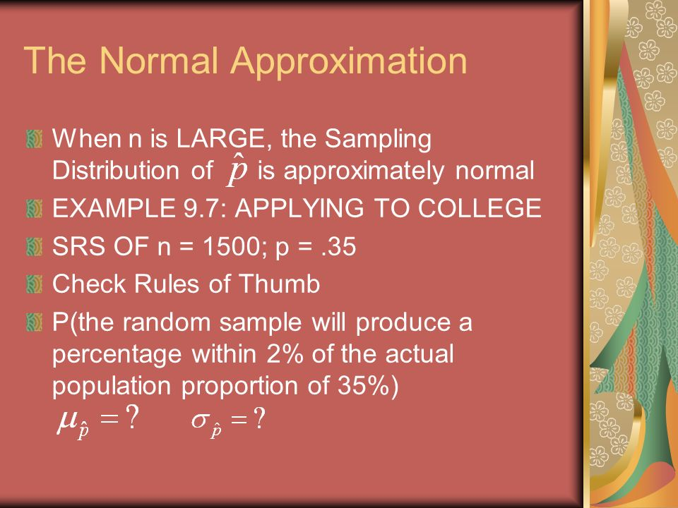 Chapter 9.2: Sample Proportion Mr. Lynch AP Statistics. - ppt download