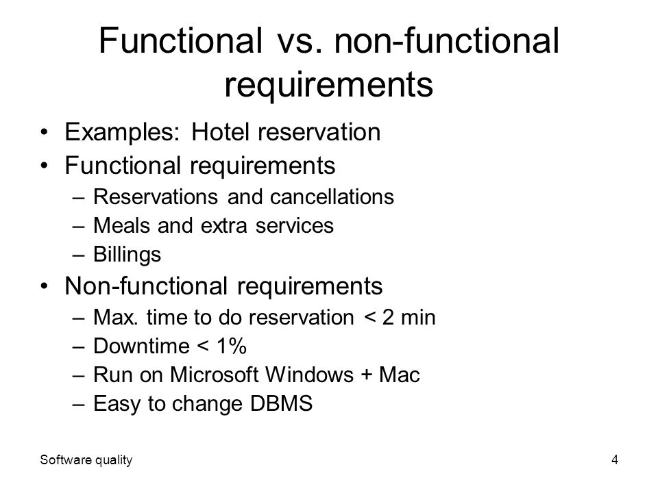Nonfunctional Requirement Examples Requirements Quest Mandegarfo