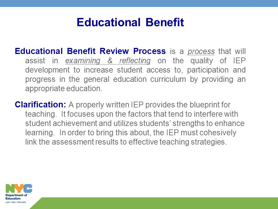 Educational benefit educational benefit review process is a 1 educational benefit educational malvernweather Image collections