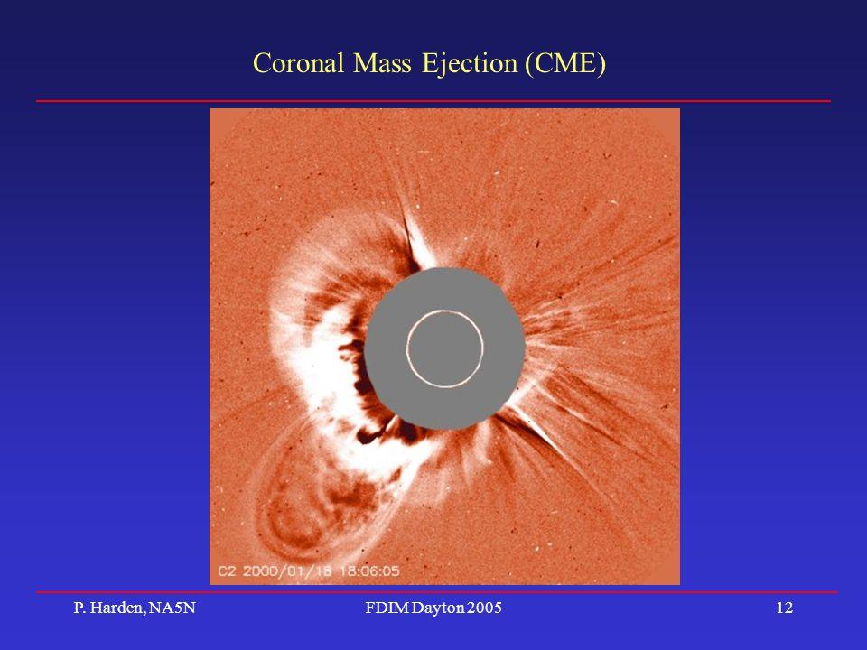 coronal mass éjection