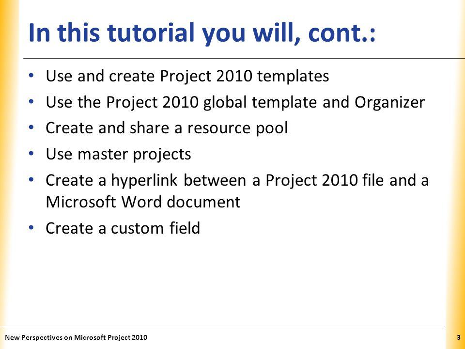 microsoft project 2010 templates
