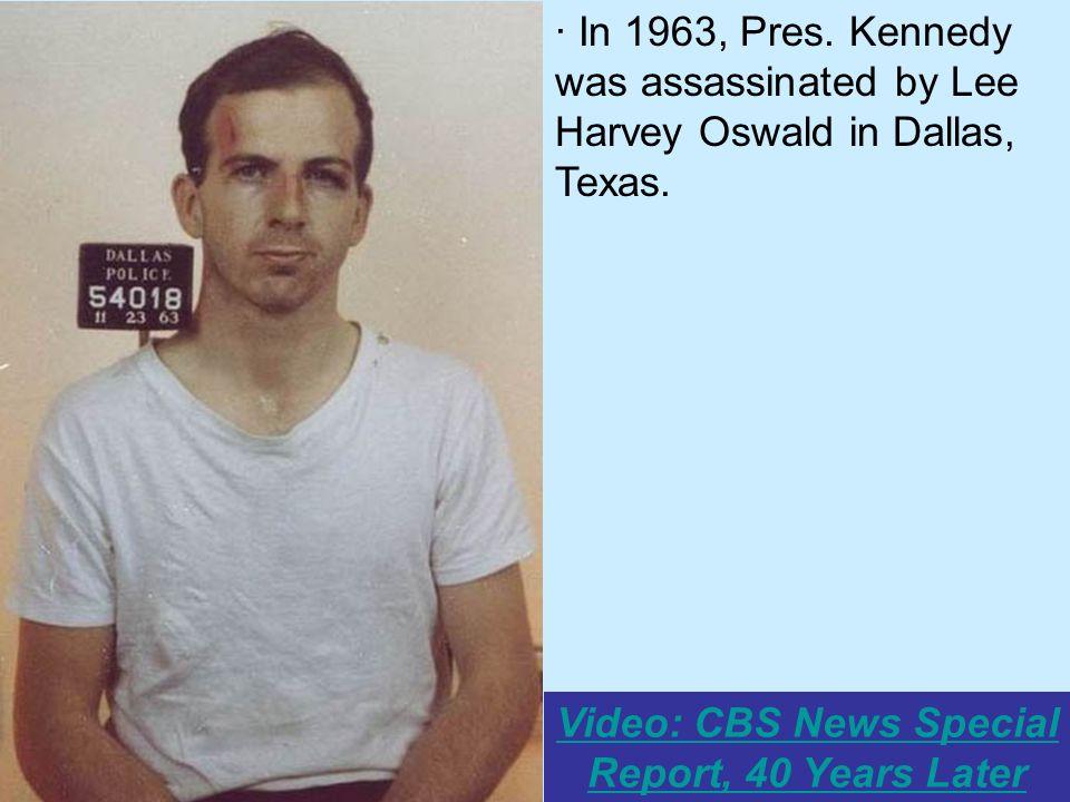 texas john f kennedy history