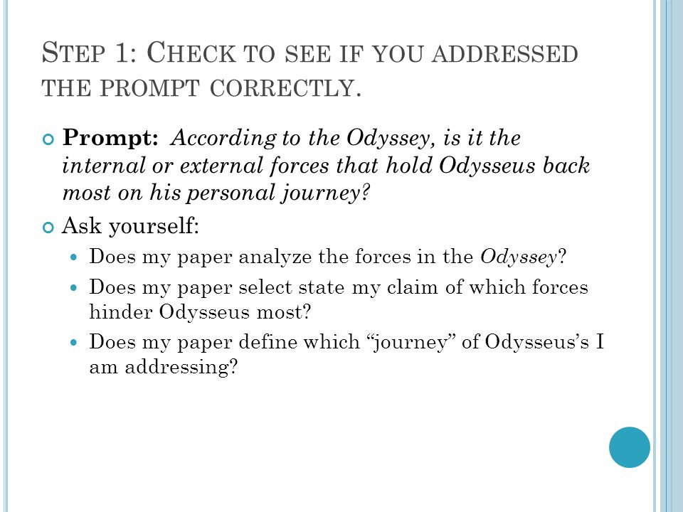 odyssey an analysis Now we come to an aspect of 2001 that has been written of extensively in relation to the hal 9000 computer, but has largely been ignored regarding other aspects of the movie - the concept of humans being trapped or enslaved by their own technology the sequence of satellites orbiting the earth.