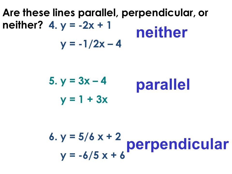 Printables Parallel And Perpendicular Lines Worksheet Answer Key slopes of parallel and perpendicular lines worksheet answer key algebra 1 3 6 lines