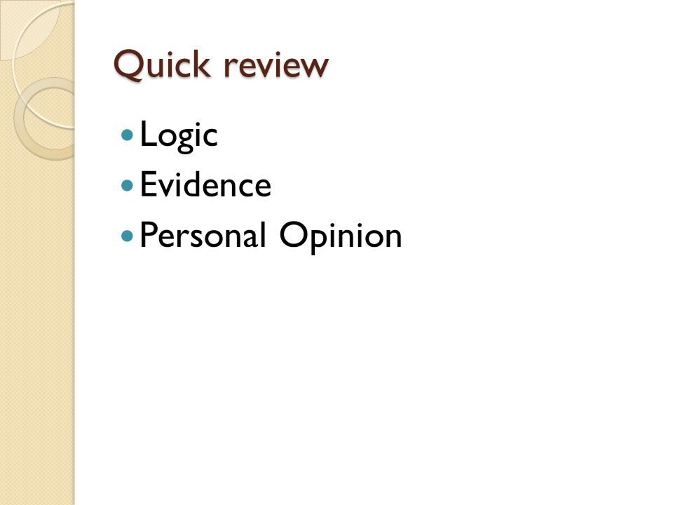 Quick review Slogan Repetition Bandwagon Testimonial Emotional Appeal Expert Opinion