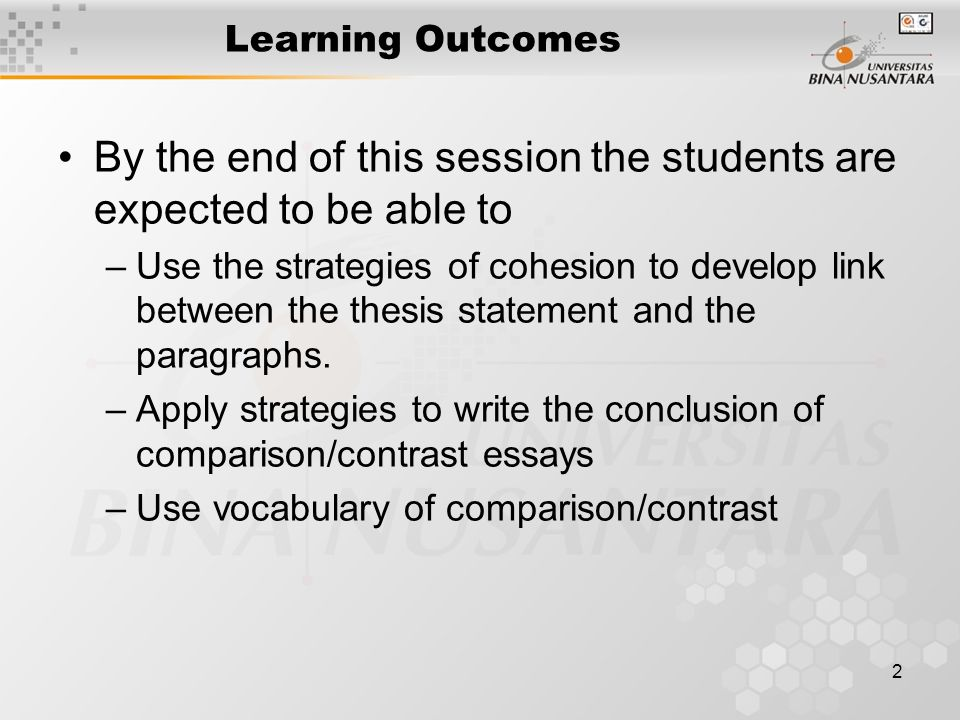 Example introductory paragraph for compare and contrast essay