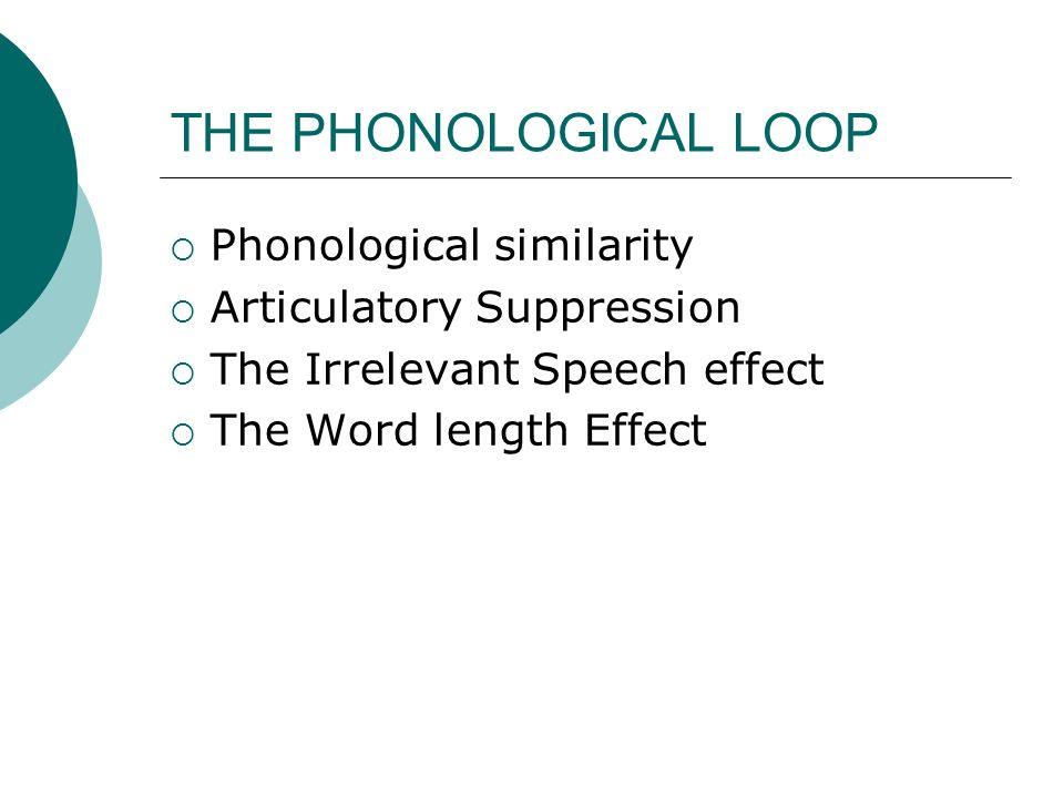 irrelevant speech effect