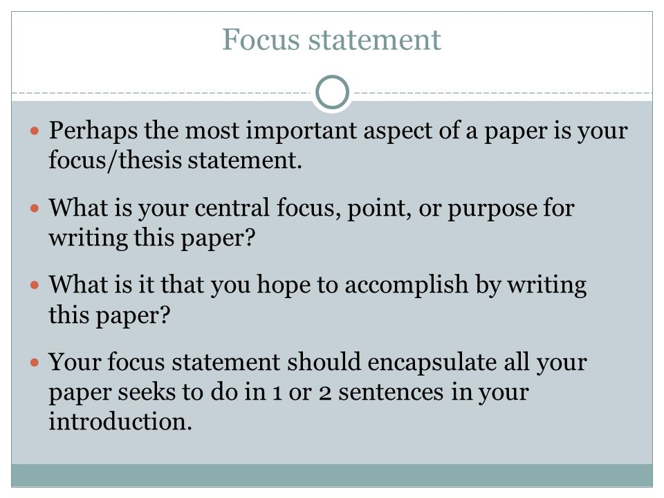 purpose of the thesis statement in a research paper Thesis and purpose statements a thesis statement is a sentence that makes an assertion about a topic and predicts how the topic will be developed.