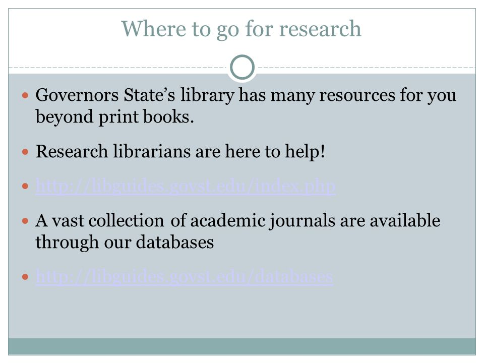 Where can i find research papers