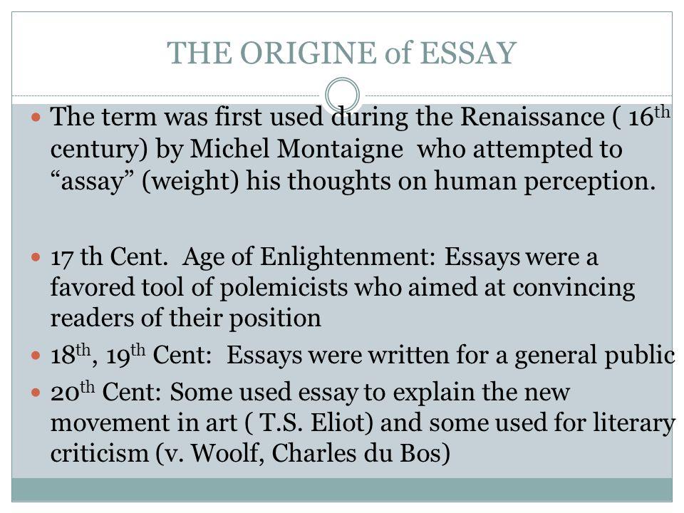 essay on crticism
