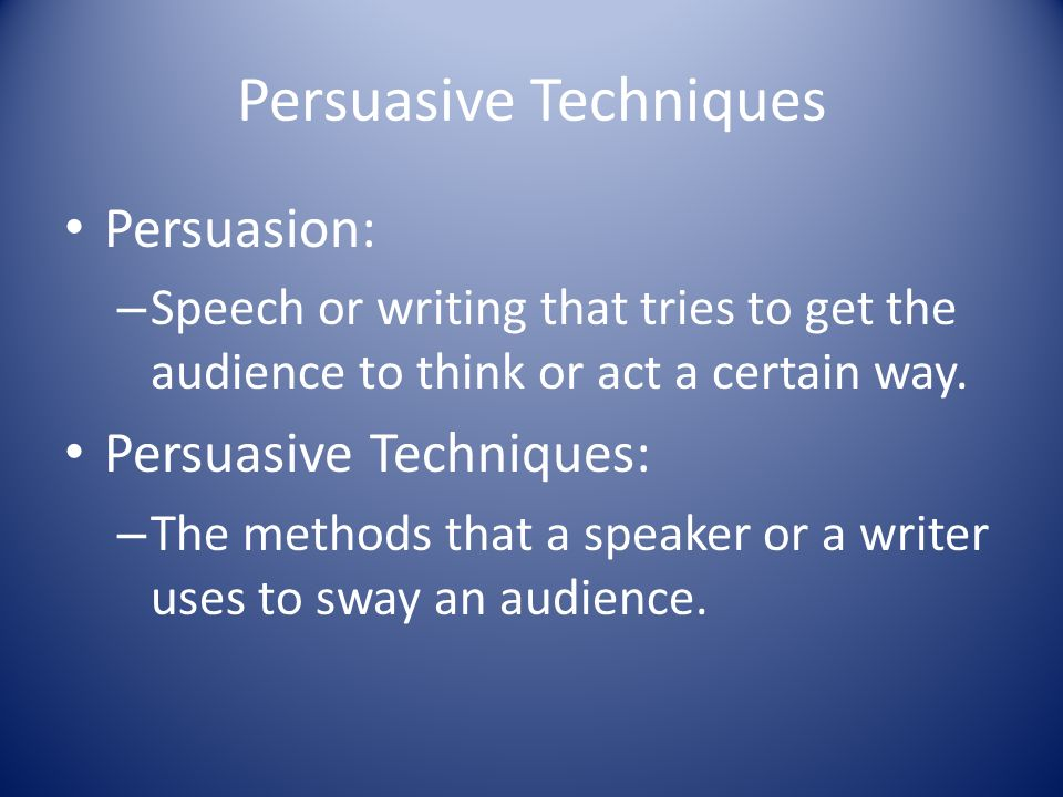 i need help writing a persuasive speech