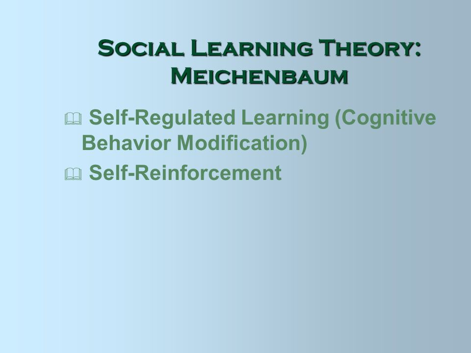 social learning theory 5 essay Social cognitive theory framework paper framework description, components, and synthesis social cognitive theory (sct) emerged primarily from the work of albert bandura social cognitive theory is a learning theory based on the idea that people learn by observing others.