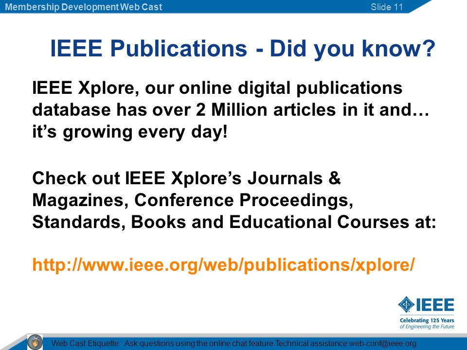 IEEE Publications - Did you know.