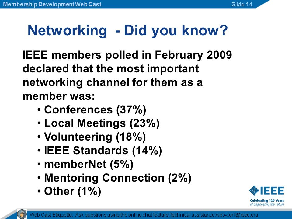 Networking - Did you know.