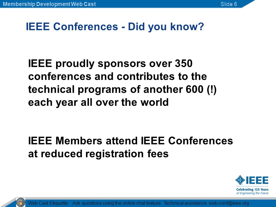IEEE Conferences - Did you know.