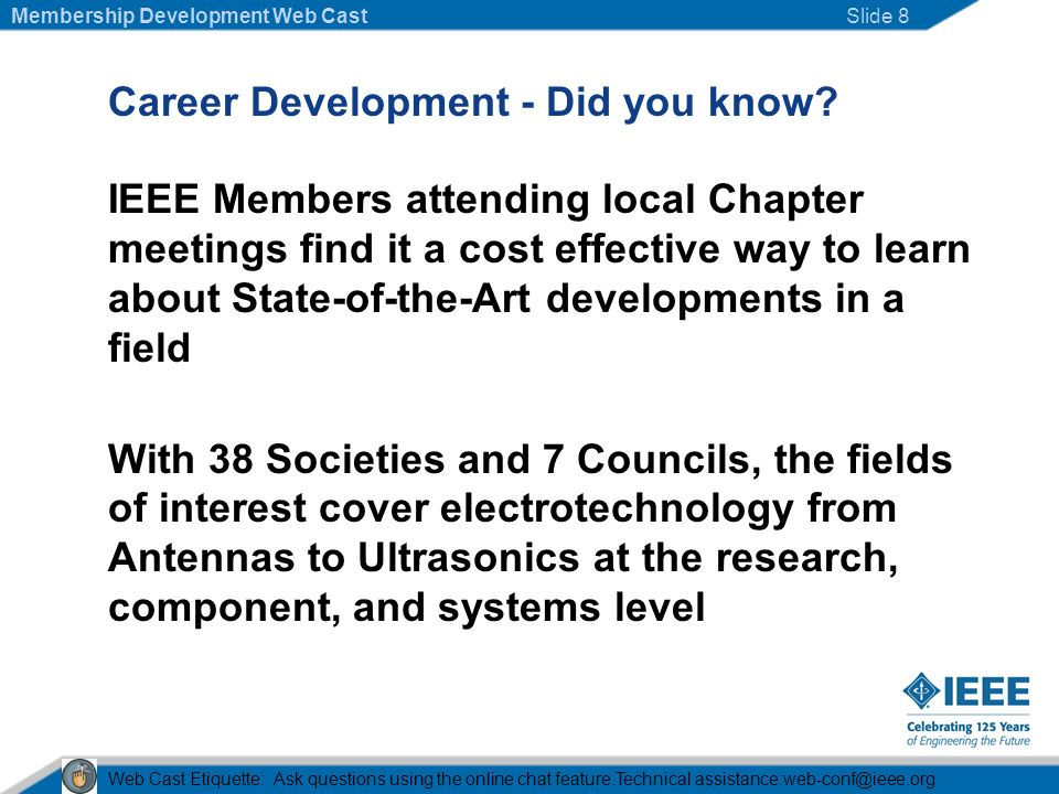 Career Development - Did you know.