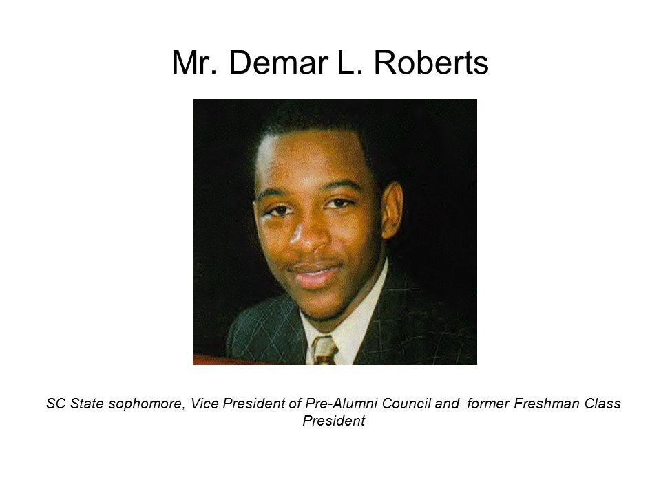 Mr. Demar L.