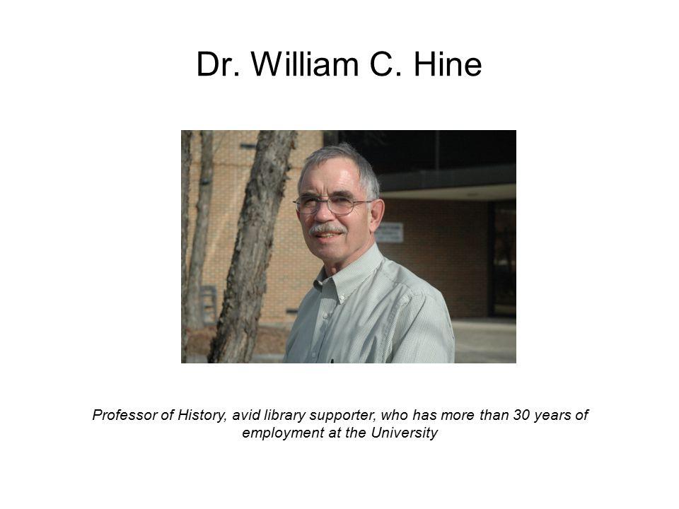 Dr. William C.