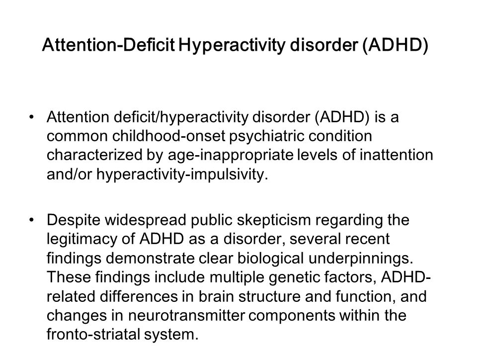 a review and comparison of attention deficit hyperactivity disorder and substance use disorder