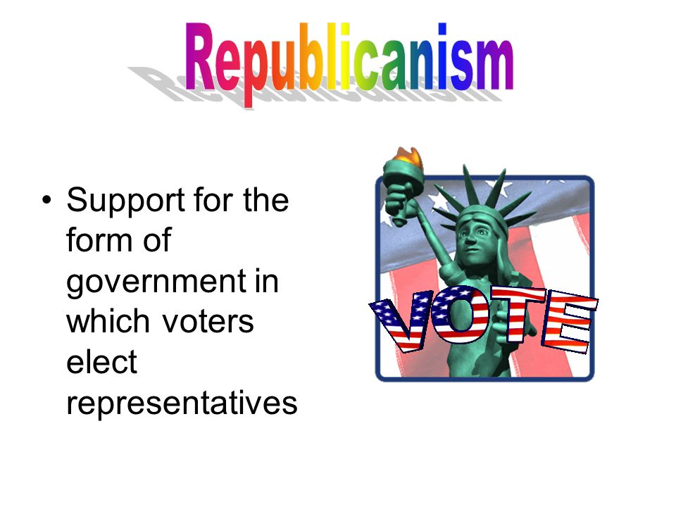 Modeled after United States Constitution Creates three branches of ...