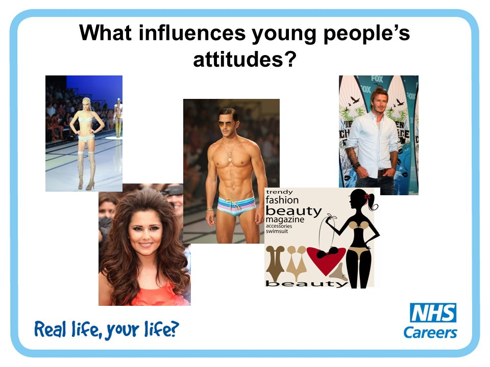 What influences young people's attitudes