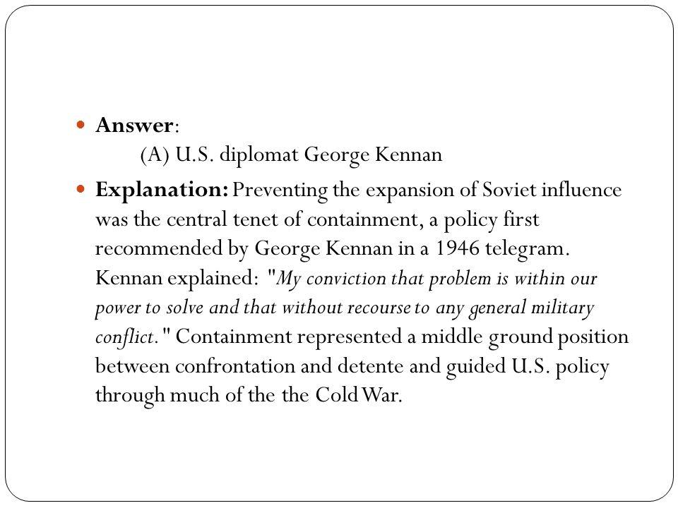 Answer: (A) U.S.