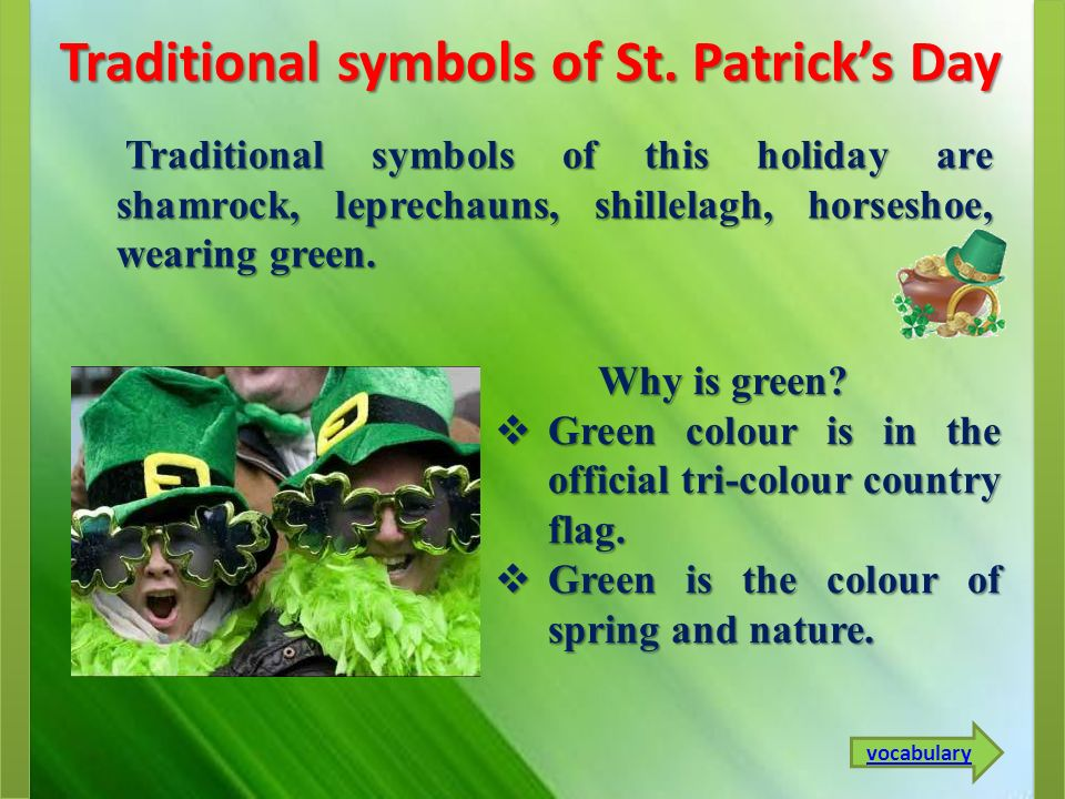 Why is green.Why is green.  Green colour is in the official tri-colour country flag.