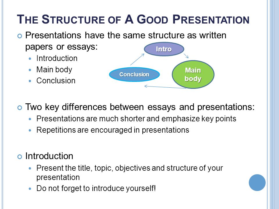 presentations what makes for a successful presentation 8 t