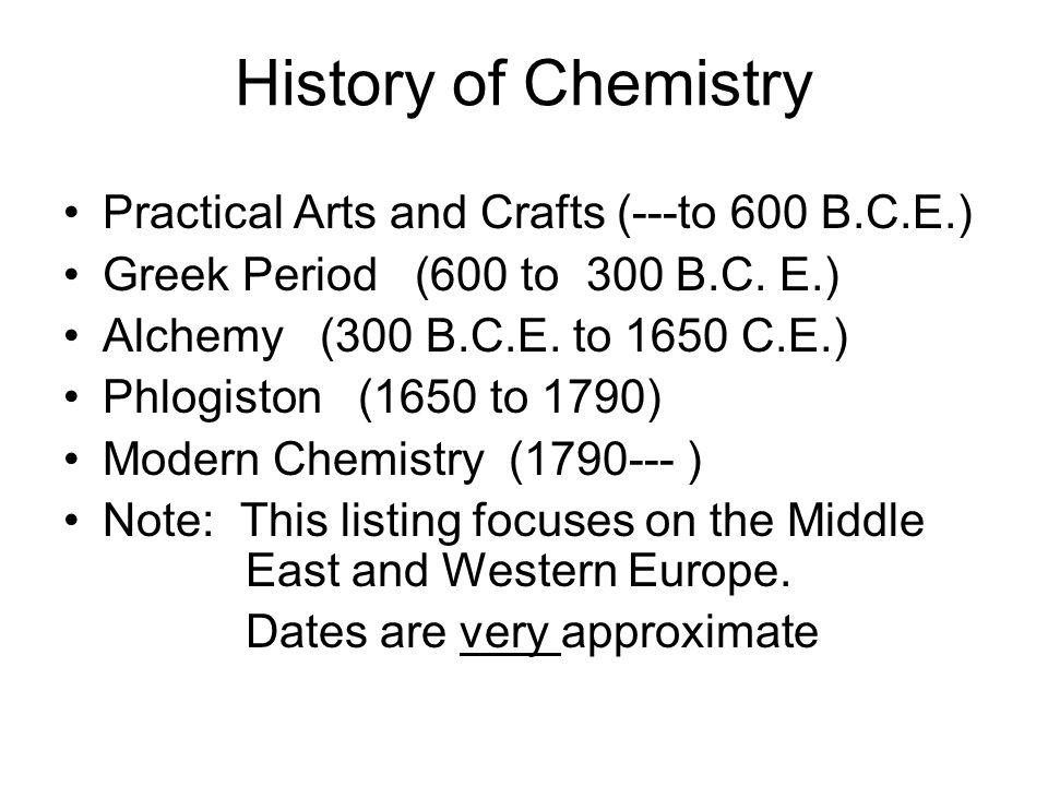 Period Chemistry
