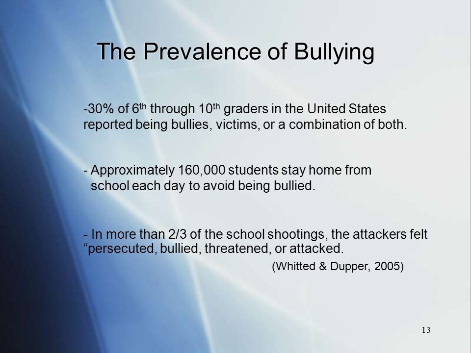 Bullying  Harassment  amp  Intimidation Prevention What     s PBIS got to