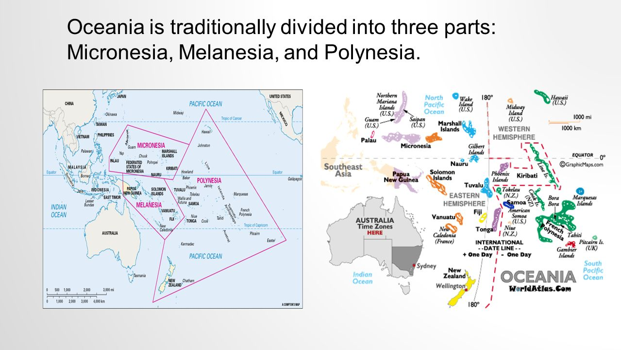 Oceania Time Zone Map vector software for mac hr flow chart