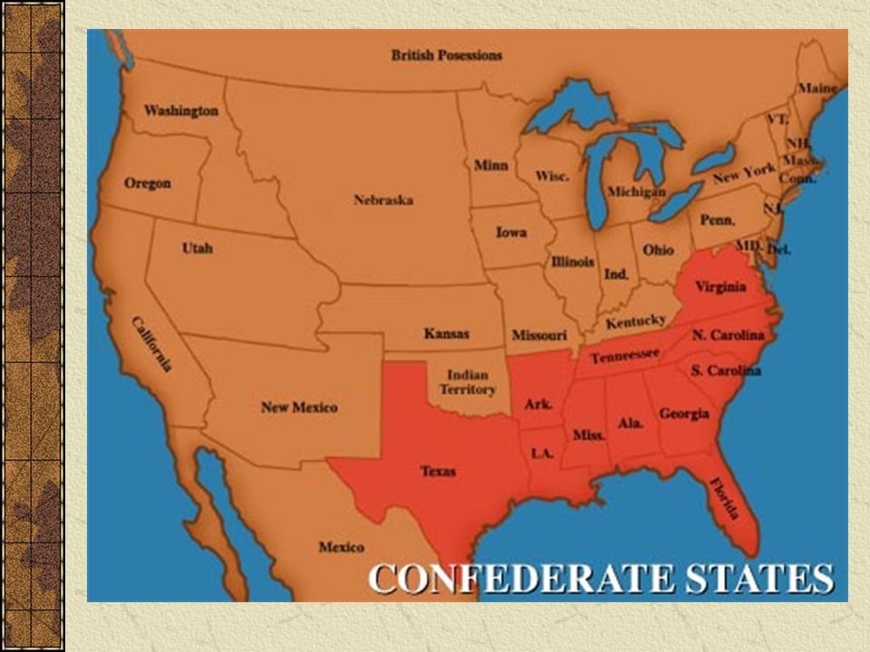 an analysis of the confederacy and the slavery in the united states The civil war, emancipation united states failed to end slavery in the 1860s the world would have felt the difference an independent confederate states of.