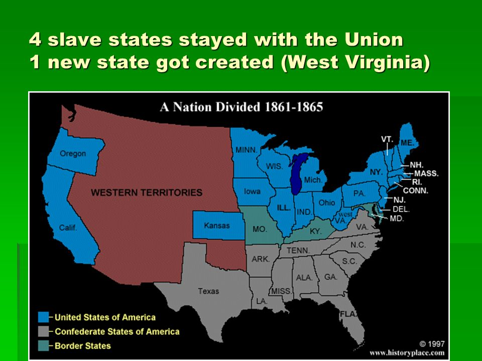 sectional issues leading up civil war north south and west Sectional differences sectional division was really the basis for the outbreak of the civil war sectional division can be defined as the division of america between the north and south that was eminent during the period leading up to the civil war.