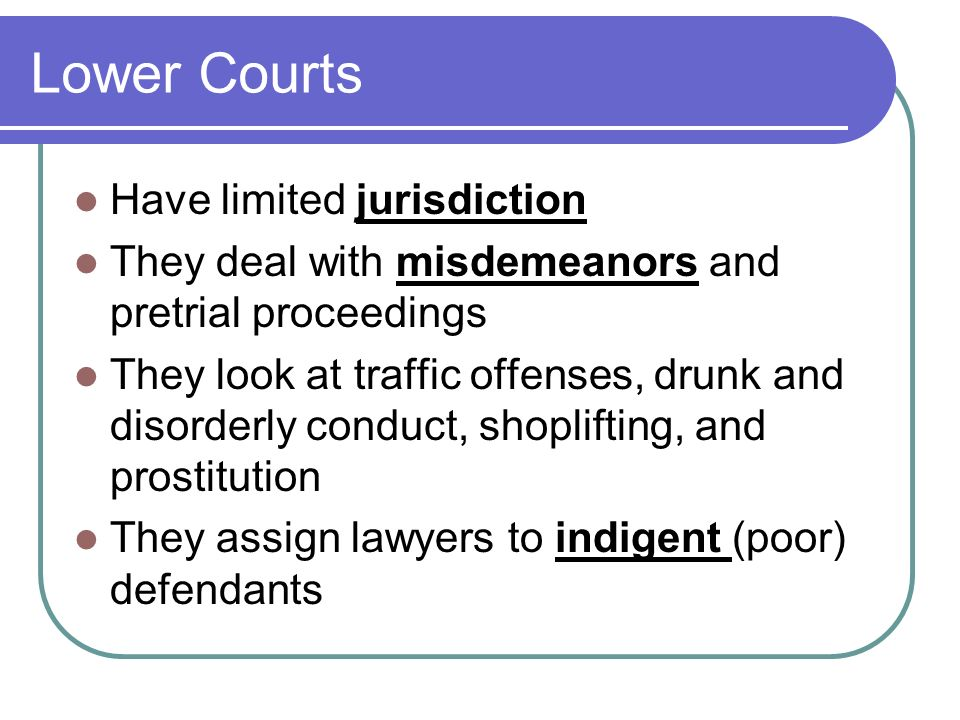 roles of law and courts in When the law is applied to the facts in courts, every party has the absolute right to an arbiter who is independent of the parties to that case and their advocates.