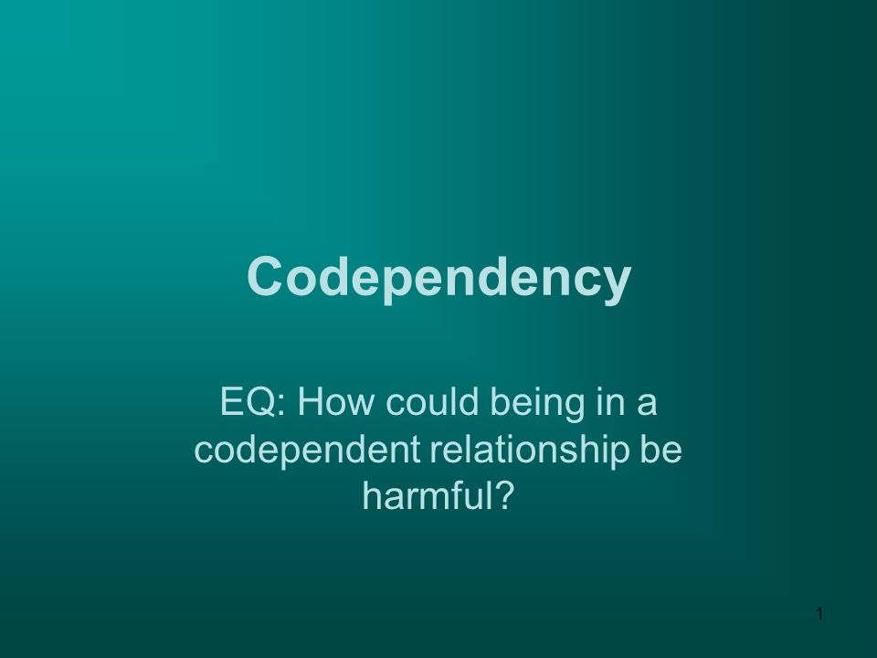 Codependent An Relationships What Enabler Is And