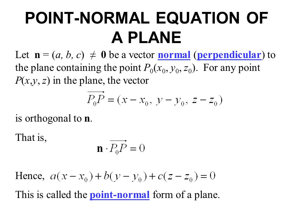 perpendicular planes equation. 2 let perpendicular planes equation