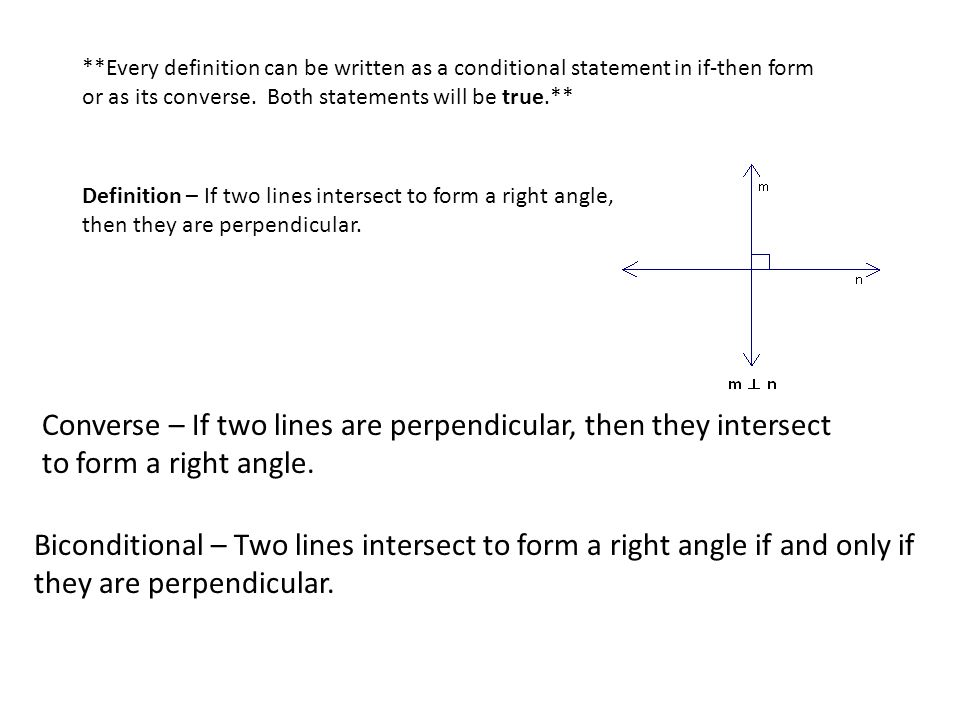 Analyzing Conditional Statements A is a logical statement that has ...