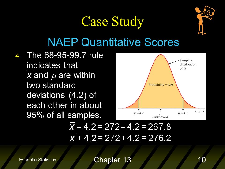 Essential Statistics Chapter 1310 Case Study NAEP Quantitative Scores 4.
