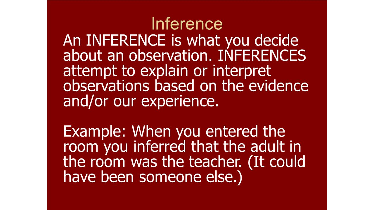 titration test observation and inference