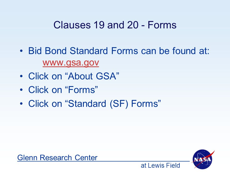 Gsa Standard Forms Gallery Free Form Design Examples