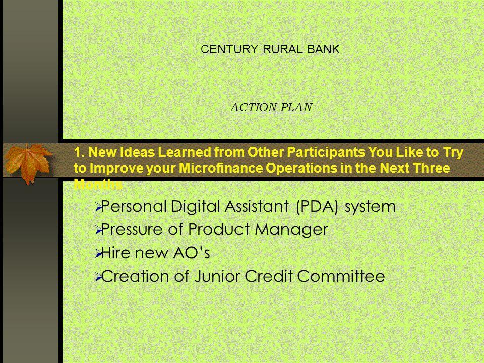 junior credit manager