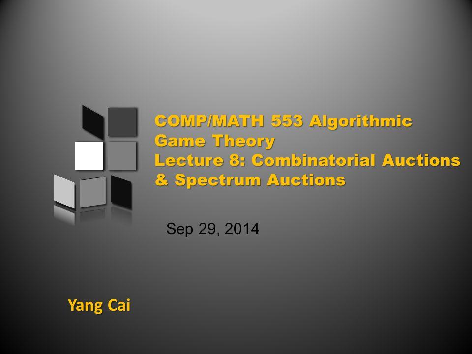 Yang Cai Sep 29, 2014