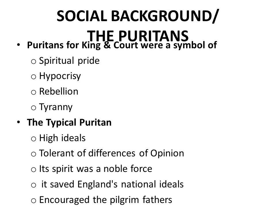 Puritan Symbol