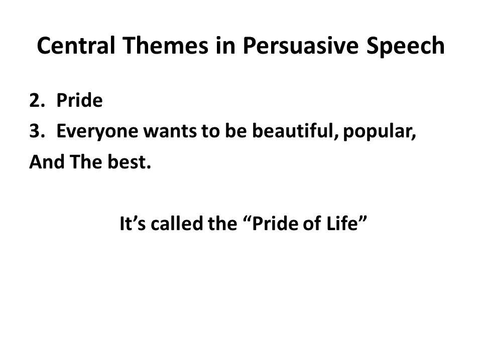 Popular persuasive speeches