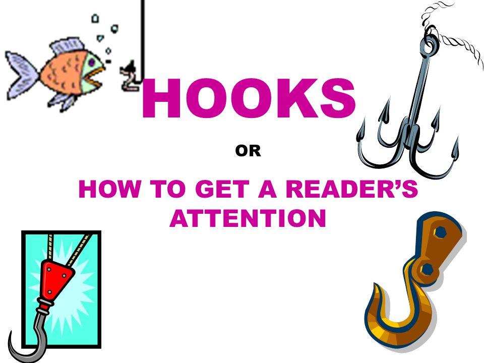 Writing a good hook