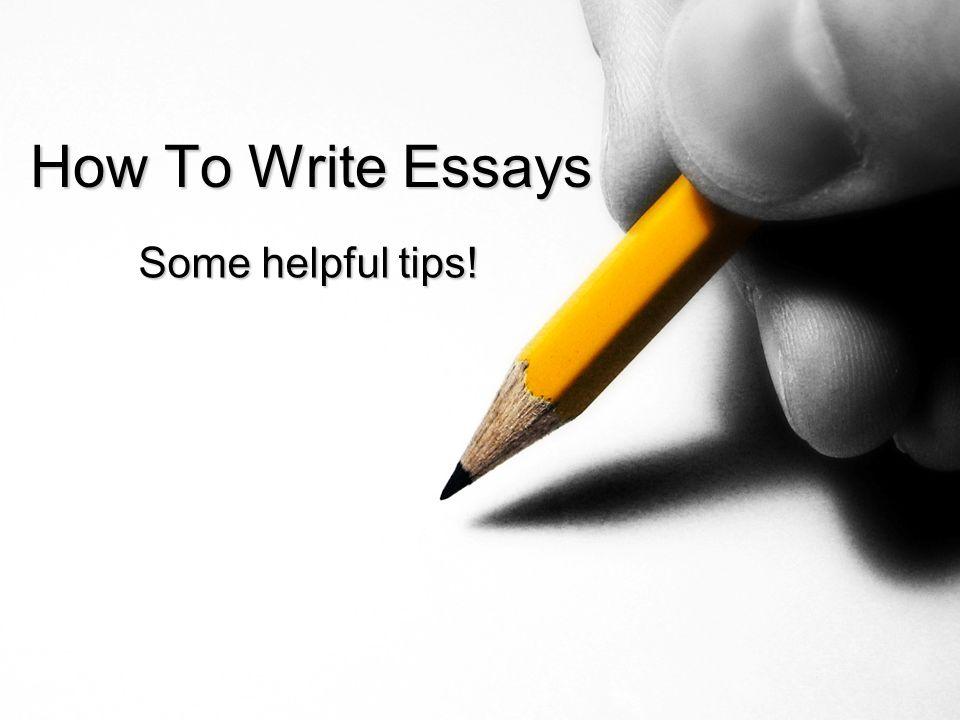 write mba essays