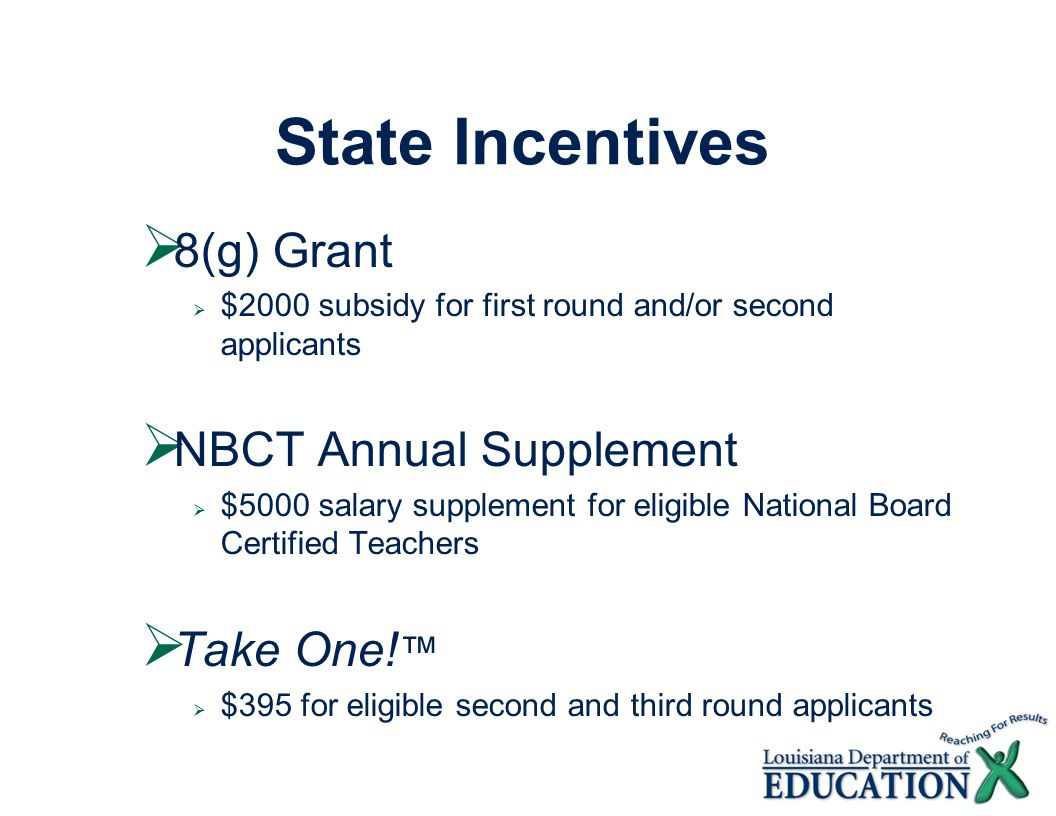 Take your teaching to the next level nbc recruitment meeting 23 state incentives xflitez Gallery