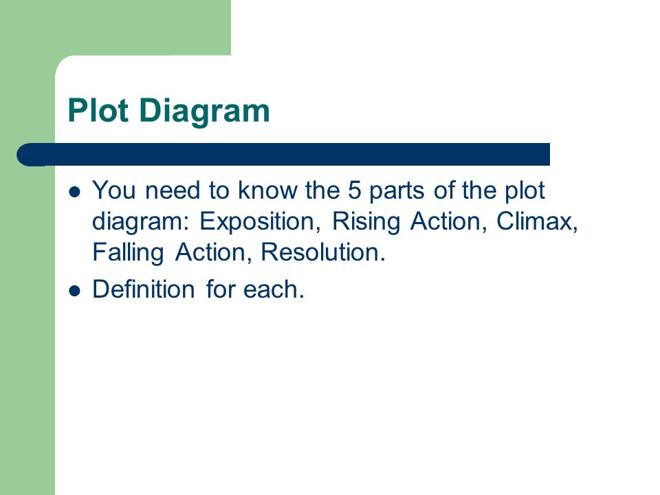 Semester 1 final exam short stories we have read the following 4 plot diagram ccuart Choice Image