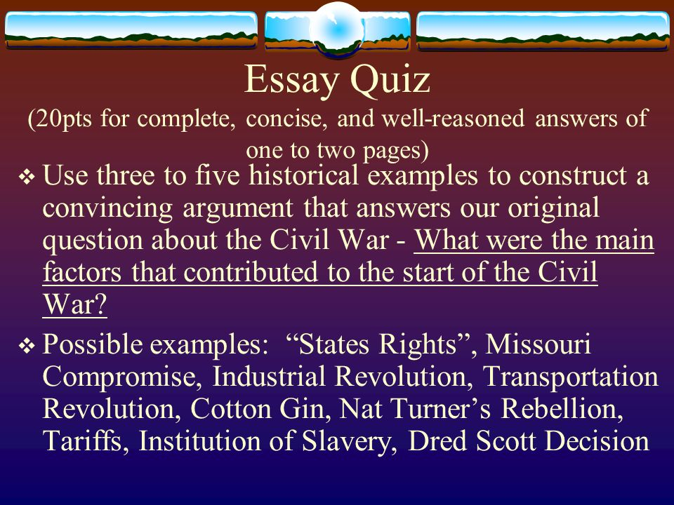 21 essay