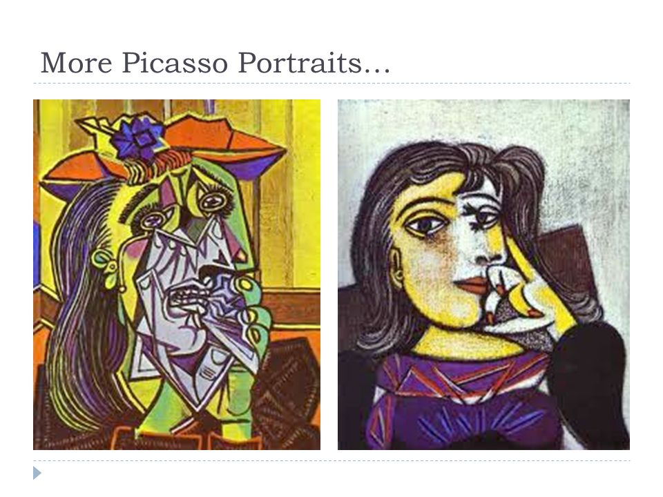 More Picasso Portraits…